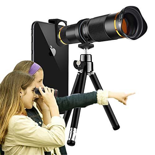Handy-objektiv, 35x Zoom Teleobjektiv Mit Stativ, Hd-Handy-kameraobjektiv Für iPhone, Samsung, Android-Smartphone, Monokular-teleskop