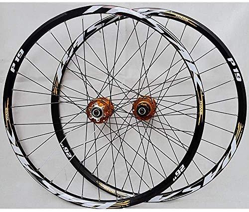 GDD Roues de vélo Roues Vélo Course Roue Disque de Frein VTT Vélo Jeu de Roues 26 Pouces 27.5 Pouces 29 Pouces Carte Roue VTT (Color : #3, Size : 29inch)