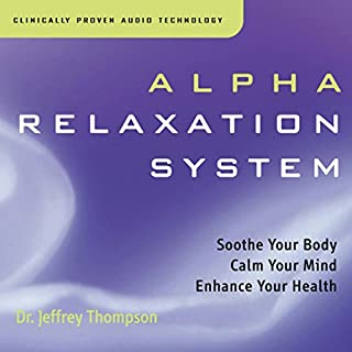 Alpha Relaxation System audiobook cover art