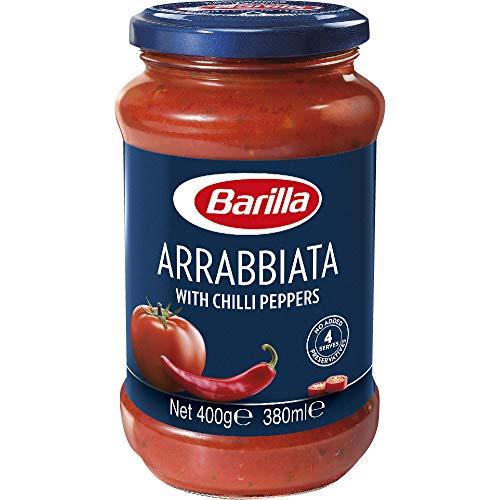 Barilla - Arrabbiata, Sugo, Pomodoro 100% Italiano - 400 g (380 ml), confezione da 12