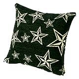 スターフリンジ クッションカバー 45×45cm STAR FRINGE CUSHION COVER [ ブラック ]の写真