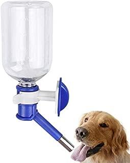 QCHOMEE Pet Portable Water Bottle Leak-Proof Pet Water Bottle Pet Hanging Kettle Cat Water Feeder No Drip Dog Water Bottles Pet Drinker Pet Supplies