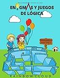 Enigmas y Juegos de Lógica: Pasatiempos para Niños, Libro para Colorear, Laberintos, Sudoku y Conecta los Puntos