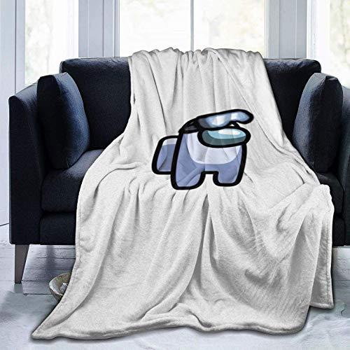 Among Us Blanket Mantas Ligeras de Lujo Manta de Felpa de Microfibra c