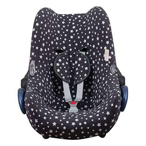 JANABEBE Funda compatible con Maxi Cosi Cabriofix, silla de coche gr 0 (Winter Sky)