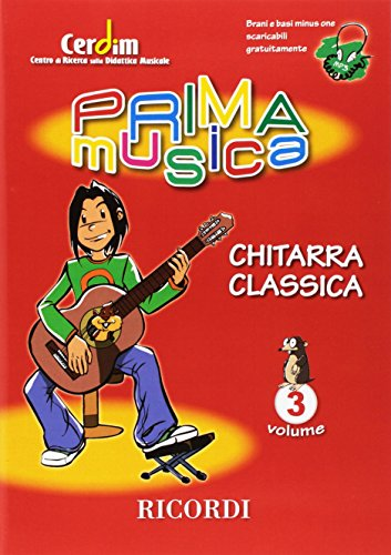 PRIMAMUSICA: CHITARRA CLASSICA VOL. 3 GUITARE