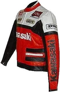 Corso Fashion Kawasaki Traje de Cuero de Moto para Hombre - CE ...