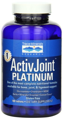 Trace Minerals Active Joint Platinum, 180 Tablets