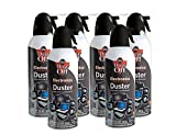 Dust-Off Disposable Compressed Gas Duster, 10 oz Cans, 6 Pack...