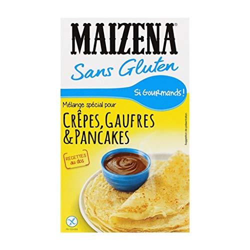 Maizena Sans Gluten Mélange Spécial pour Crêpes Gaufres & Pancakes 510g (lot de 4)