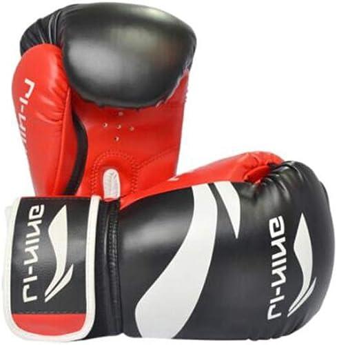 MUZIWENJU Gants de Boxe, Sanda Adulte, Combat, Set de Boxe de Jeu Professionnel, Gants de Taekwondo, (1 Paire, 2 Paires) Tissu Durable de Haute qualité