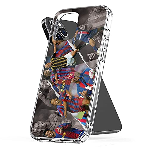 REDPEONY Phone Case Compatible with iPhone 2020 8 7 X 12 Xr 6 Se 11 Ronaldinho 6s Collage Plus Xs Pro Max Mini Jumbo Collage Media Mixed Photo Combine