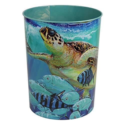 River's Edge Products Waste Basket - Guy Harvey Sea Turtle