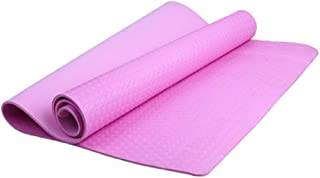 FKY - Esterilla de yoga suave, lavable, antideslizante, para