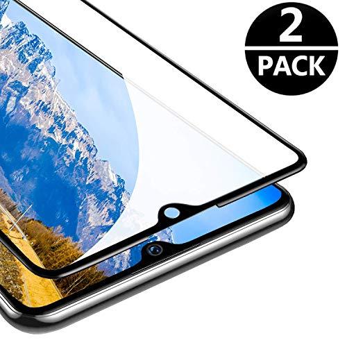 FUMUM [2 Stück] 5D Kristallklar Panzerglas Huawei P30 Panzerfolie-Premium 9H 5D Full Cover Schutzfolie für Huawei P30 Folie [Nano HD Anti-Fingerabdruck]