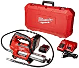 MILWAUKEE'S 2646-22CT M18 18-Volt Lithium-Ion Cordless 2-Speed Grease Gun 2-Battery Kit