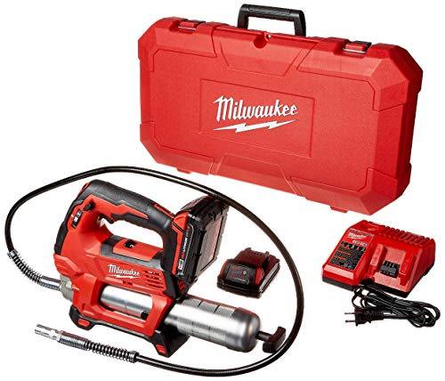 Milwaukee 2646-22CT M18 18-Volt Lithium-Ion Cordless 2-Speed Grease...