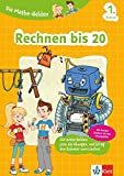 Klett Die Mathe-Helden Rechnen bis 20 1. Klasse: Mathematik Grundschule (mit Stickern)