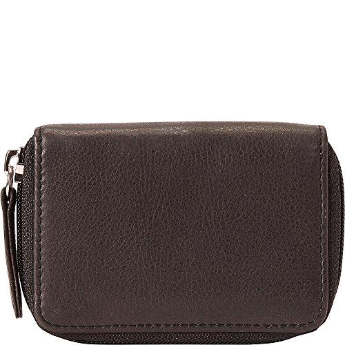 Osgoode Marley Eight Hook Zip Key Case with Valet (Black)