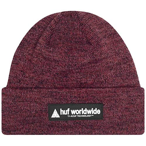 HUF Nystrom Beanie - Rose Wood Red
