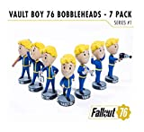 Fallout 76 Bobble-Heads 13 cm Vault-Tec Vault Boys Series 1 7-Pack Gaming