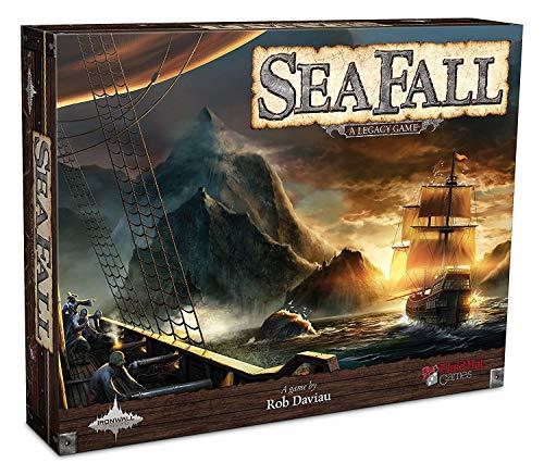 Seafall - Bordspel - Een groots avontuur op zee! - Voor de hele familie - Taal: Engels