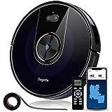 Aspirateur Robot Laveur de Sol Puissante 2200 Pa, Bagotte 3 en 1 Robot Aspirateur Connecté Wi-Fi,...