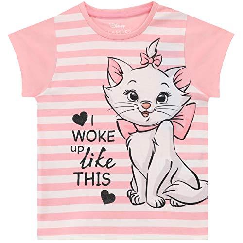 Disney Pijamas para Niñas Aristocats Rosa 5-6 Años