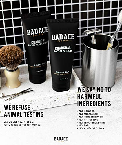 51hGZm+JpEL - BAD ACE Charcoal Facial Wash with Scrubs for Men - Summit Rain