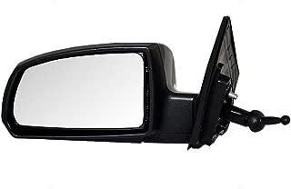 Mirror Manual Remote RH Right Passenger Side for 10-11 Kia Rio