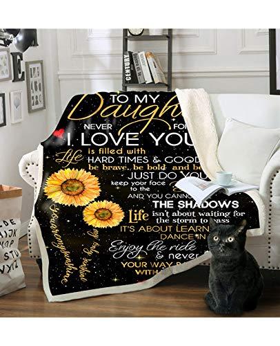 Koc Woollen Blanket Sunflower Koc Żółty BlackThrow Blanket Sunflowers Printed Sherpa Koc polarowy miękki ciepły koc do sypialni kanapa Bedding Accessories (kolor: A, rozmiar: 140 * 180 cm)