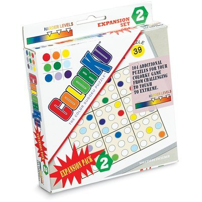 Colorku Expansion Puzzle Card Pack - Pack 3 by Mad Cave Bird Games