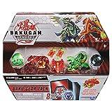 Bakugan Baku-Gear, Sairus Ultra with Baku-Gear and Fused Trox x Nobilious Ultra Collectible Action Figure Set (10.13') 4-Pack