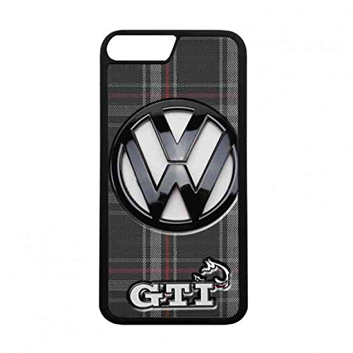 Volkswagen Handyhülle,Harter Volkswagen Telefon-Kasten Hülle,German Automarke Volkswagen GTI Hartplastik Hülle Case für iPhone 7