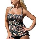 Traje De Baño De Camuflaje para Mujer Traje De Mode De Marca Baño De Bikini Traje De Baño con Push Up con Dos Piezas S M L Traje De Baño De Moda para Mujer Traje De Baño De Playa