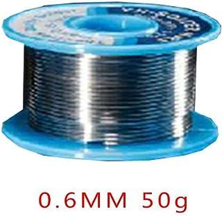 Censhaorme 0.6MM 50 g de estaño Soldadura del Alambre de