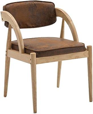 麻ロープアームレスト快適な背もたれと布張りのキッチンシート付き布張りチェア-リネンアームチェアスツールヴィンテージマックス。 150kg