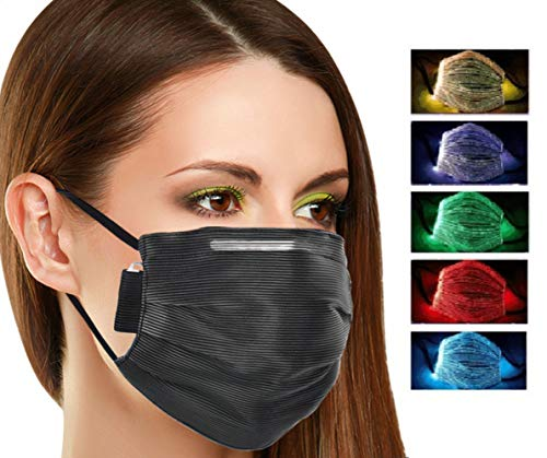 ClayTM - Máscara LED para hombre y mujer, 7 colores diferentes -...