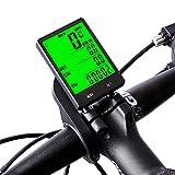 XWEM Ordenador De Bicicleta, Moto Inalámbrico Bicicleta De Carretera Bicicleta De Montaña Velocímetro Impermeable del Odómetro Pantalla Grande Velocidad De Grabación Y La Distancia Inglés