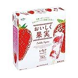オハヨー乳業 おいしく果実 いちご40ml×7本×8箱