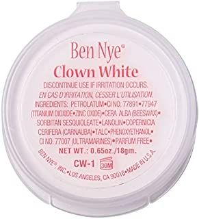 Ben Nye Clown White, 0.65oz