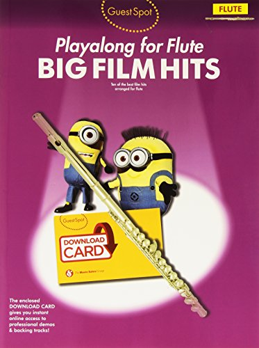 Guest Spot: Big Film Hits Playalong for Flute (Book/Audio Download)
