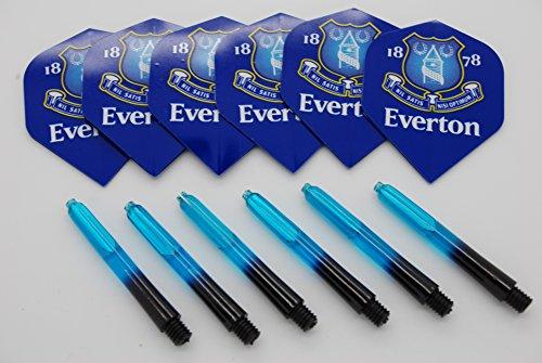 5 Juegos Bullydarts Target Pro Grip Ca/ñas de Dardos con Anillos de Bloqueo 15 Tallos