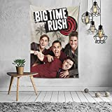 DaphneKBaxter Big Tim-e Rus-h Tapestry Home Decoration Wall Mural Tapestry Bed Sheet Wall Hanging Blanket Wall Art Decor for Bedroom Living Room Dorm Picnic Mat Beach Mat 6040 inch