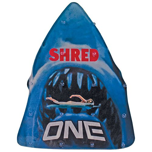 "One Mfg Shred Snowboard Stomp Pad 6"" x 5"" - Lightweight, anti-slip, USA made traction"
