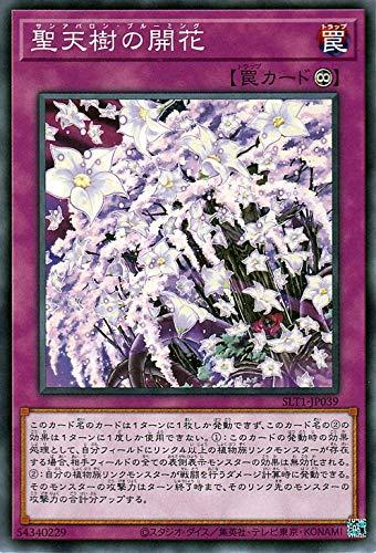 遊戯王カード 聖天樹の開花(ノーマル) SELECTION 10(SLT1) | セレクション10 サンアバロン・ブルーミング 永続罠 ノーマル