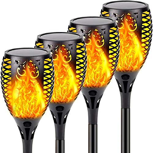 4-Pack Solar Lights Outdoor Only $39.99 Shipped