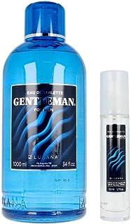 Luxana Gentleman For Men Agua de Tocador Lote 2 Pz 1000+50 ml