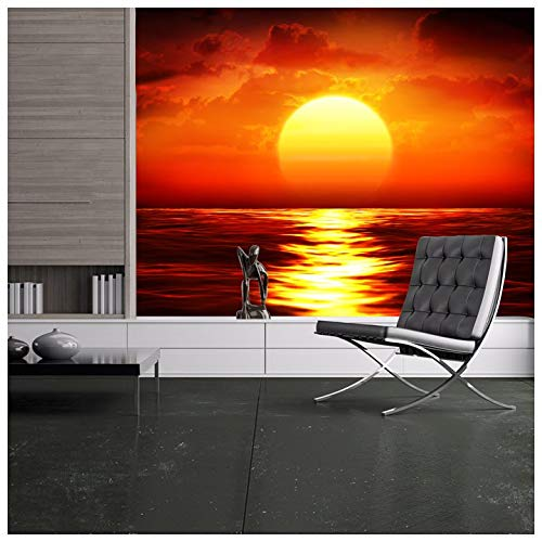 sunset wall murals for bedroom amazon co ukazutura red sunset wall mural ocean seascape photo wallpaper living room bedroom decor available in 8