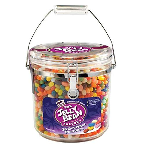 The Jelly Bean Factory Jelly Bean MONSTER JAR 4,2 kilo (36 huge flavours)